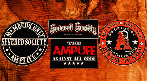 Amplife Classics Sticker Slap Pack 4 Count