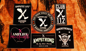 Ampstrong Sticker Slap Pack 6 Count