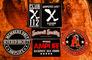 Amplife Classics Sticker Slap Pack 6 Count