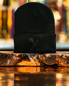 Amputee Life® Clothing Logo Beanie Black with Black  Every day we reach deep down to find that INNERSTRENGTH to never give up! Rock your AMPLIFE proudly!  100% Acrylic