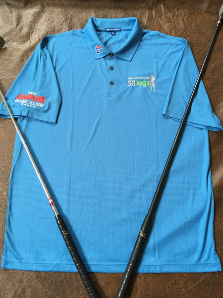 Amputee Life 174 Clothing Amp 50 Legs Polo Ocean Blue Amputee