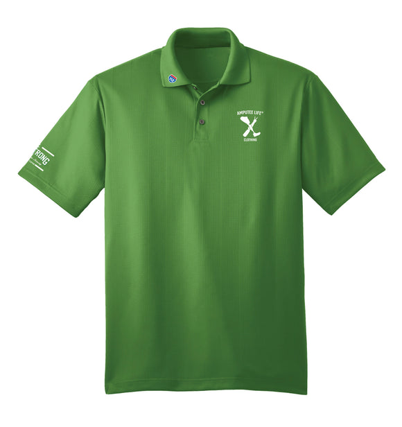 Amputee Life® Clothing Ampstrong Polo Vine Green