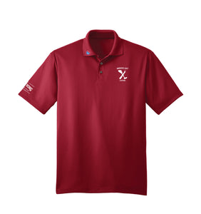 Amputee Life® Clothing Ampstrong Polo Red