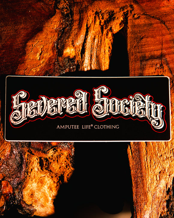 SEVERED SOCIETY  Sticker Slap