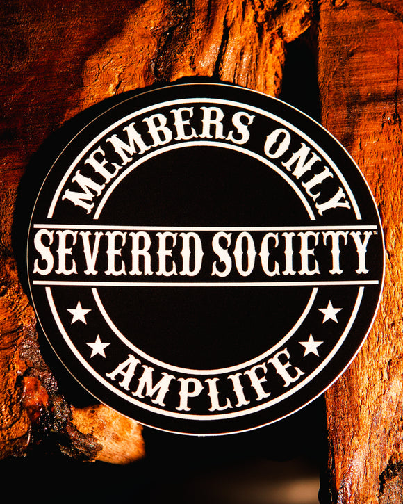 Members Only Severed Society Sticker Slap