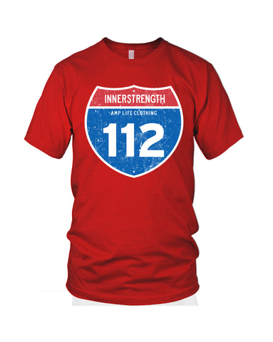 AMPUTEE LIFE® 112 INNERSTRENGTH Red T-Shirt - Amputee Life® Clothing