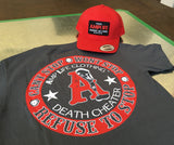 AMPLIFE DEATH CHEATER CHARCOAL GREY - Amputee Life® Clothing
