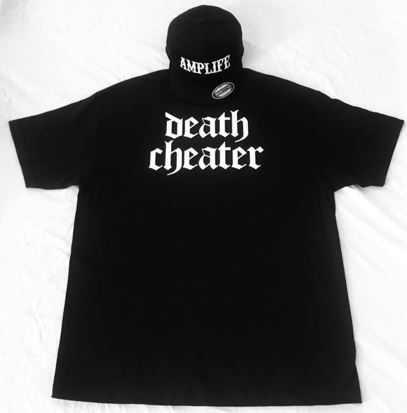 Death Cheater T-Shirt Black or Navy with White