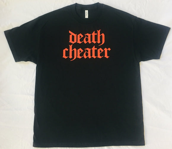Death Cheater T-Shirt Black with Red