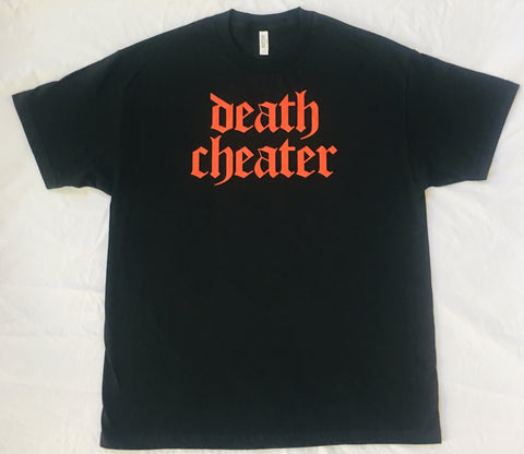 Death Cheater T-Shirt Black or Navy with Red