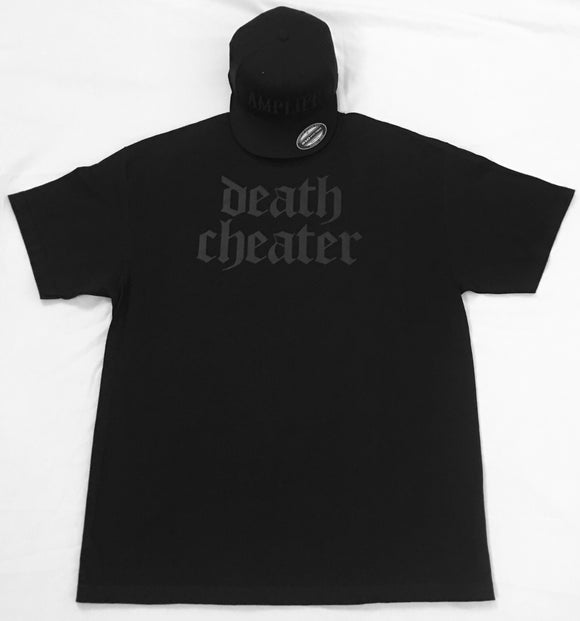 Death Cheater T-Shirt Black on Black