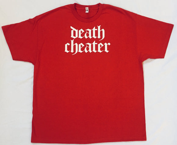 Death Cheater T-Shirt Red with White
