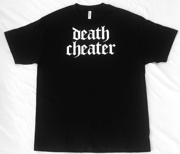 Death Cheater T-Shirt Black with White