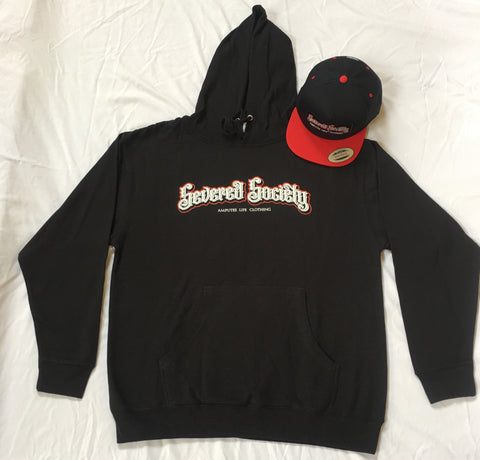 Severed Society Hoodie Available in Black or Grey