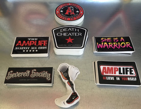 AMPUTEE LIFE® STICKER SLAP PACK