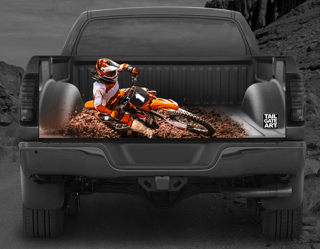 Orange Dirt Devil (Motocross)
