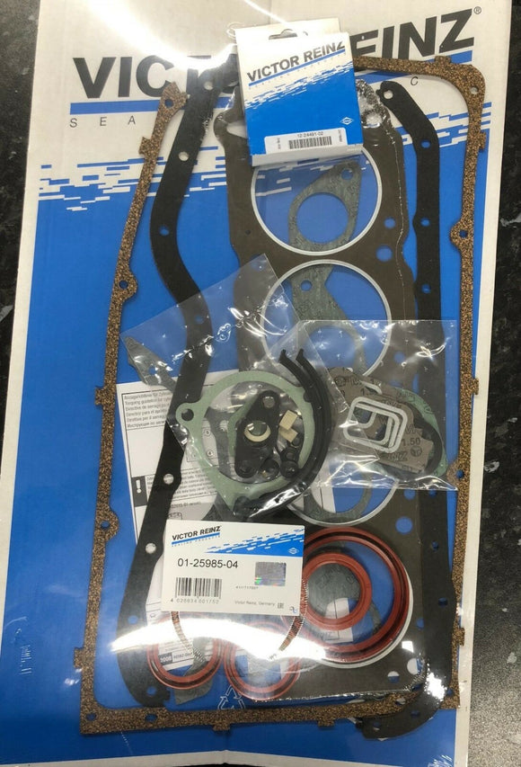 Ford Escort RS Capri Cortina Granada Scorpio Taunus Transit Pinto RS2000 Non-EFI Thin Rocker Cover Reinz Full Engine Gasket Set -01-25985-04