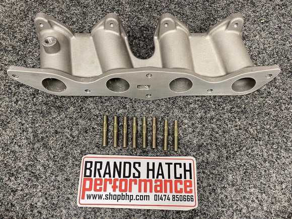 Ford 1.6 2.0 OHC Pinto Inlet Manifold - Twin 45 Weber DCOE & Dellorto DHLA