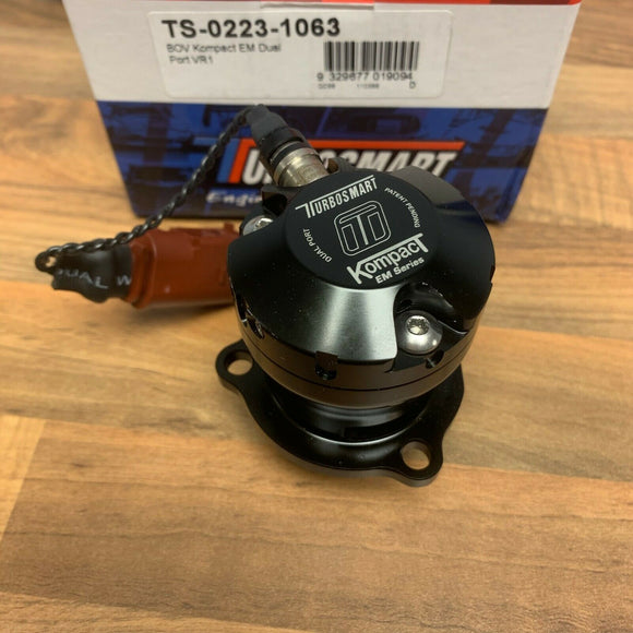 VW 2.0 CC TFSI 2012 onwards TURBOSMART Kompact Dual Port BOV Dump Valve - VR1