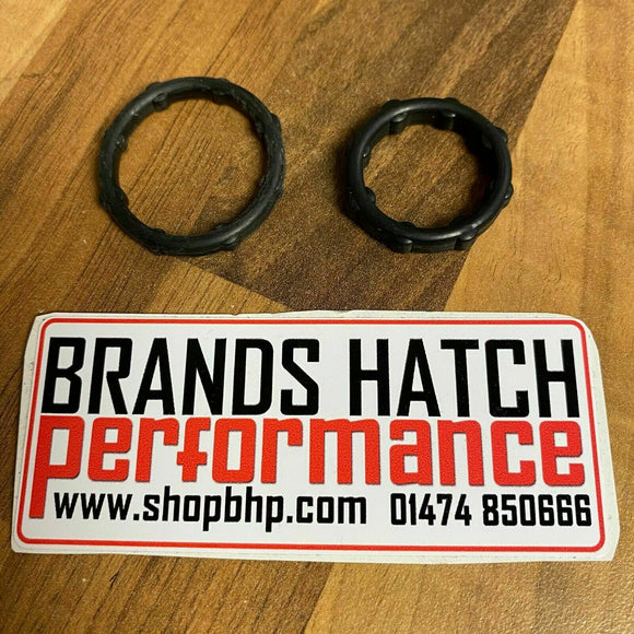 Mini One Cooper S JCW R50 R52 R53 Victor Reinz Timing Cover Seals X2