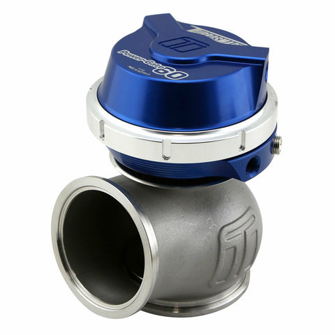 Turbosmart Gen-V Gen 5 60mm 14PSI PowerGate External Wastegate BLUE WG60