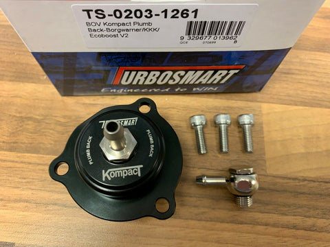 Volvo S60 T5 2011 onwards TURBOSMART Kompact Plumb Back Recirc Dump Valve