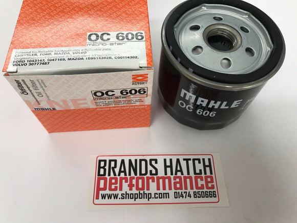 Ford 1.6 1.8 2.0 Focus Mk1 Zetec Blacktop Silvertop MAHLE Oil Filter OC606