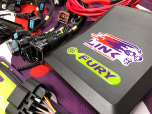 Link G4X Fury ECU Ford RS Cosworth YB engine Kit with Wiring Engine Loom & Bosch 550cc / 1000cc Injectors & K20 Coils - Onboard Wideband & Ethrottle support