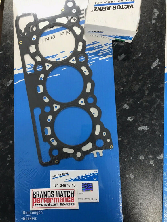 Citroen 2.7 C5 HDI C6 HDI 205 FAP Victor Reinz MLS Head Gasket & Bolts -One Side -10