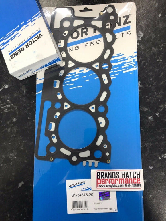 Citroen 2.7 C5 HDI C6 HDI 205 FAP Victor Reinz MLS Head Gasket & Bolts -One Side -20