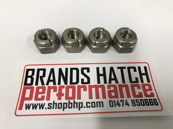 Cosworth YB M10 exhaust manifold turbo nut nuts set