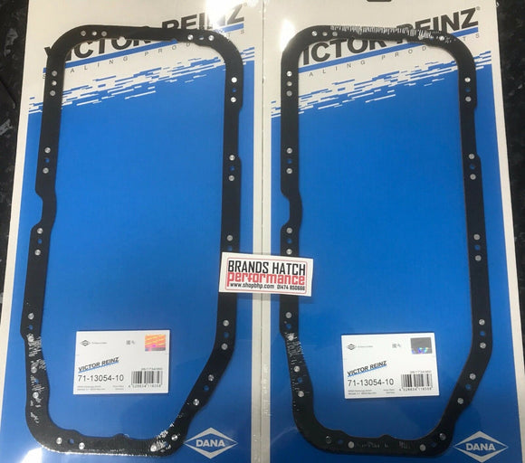 2X Vauxhall Opel C20LET Redtop red top 2.0 Reinz Sump Oil Pan Gasket