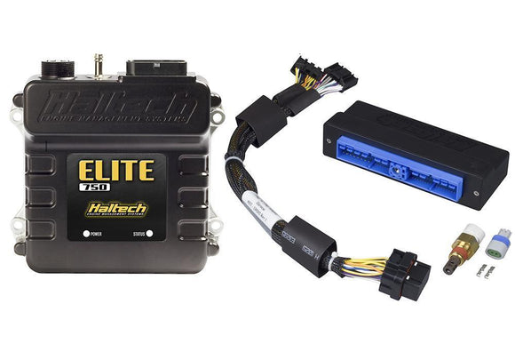 Haltech Elite 750 + Nissan Patrol Y60 (TB42) Plug 'n' Play Adaptor Loom Kit