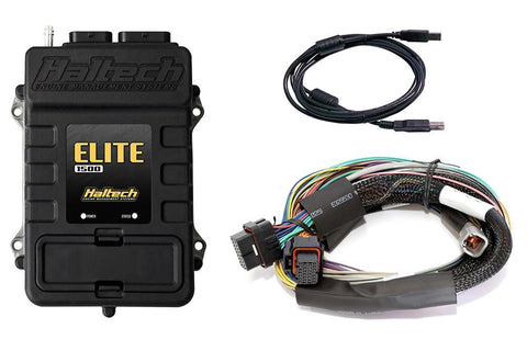 Haltech Elite 1500 + Basic Universal Wire in Loom Kit