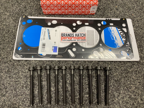 Ford Cougar Mondeo Focus 2.0 Multilayer MLS 0.6mm Reinz Head Gasket & Headbolts