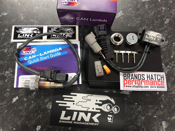 Link Engine Management - Link ECU - Link G4+  Can Lambda 4.9 Bosch Sensor - Brands Hatch Performance