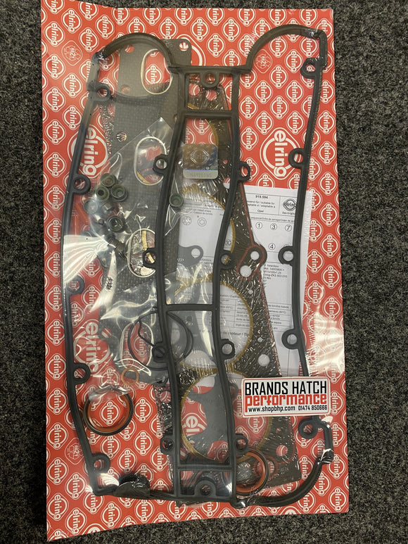 Vauxhall 2.0 Calibra A Vectra A C20LET Redtop Red Top Elring Head Gasket Set