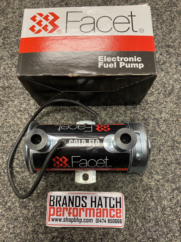 Genuine FACET Red top REDTOP 12V Competition Electronic Fuel Pump - 480532