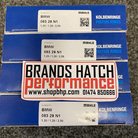 4 X Vauxhall Opel Lotus Z20LET Z20LER Z20LEH +0.25 86.25 mm MAHLE Piston Rings