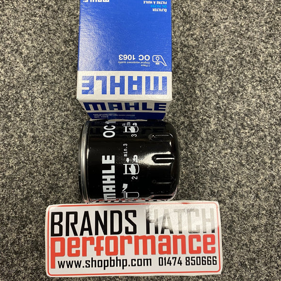 Ford Focus MK3 2.0 ST & 2.3 RS Ecoboost MAHLE Oil Filter OC1063