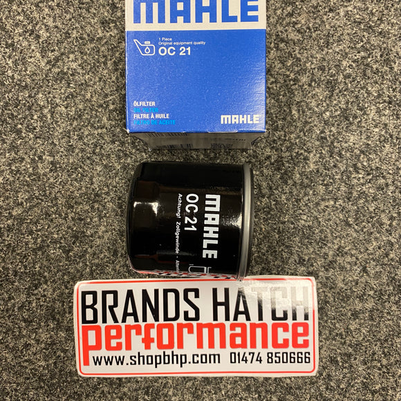 Ford 1.3 1.6 Escort Mk1 Mk2 Capri Xflow Crossflow MAHLE Oil Filter OC21