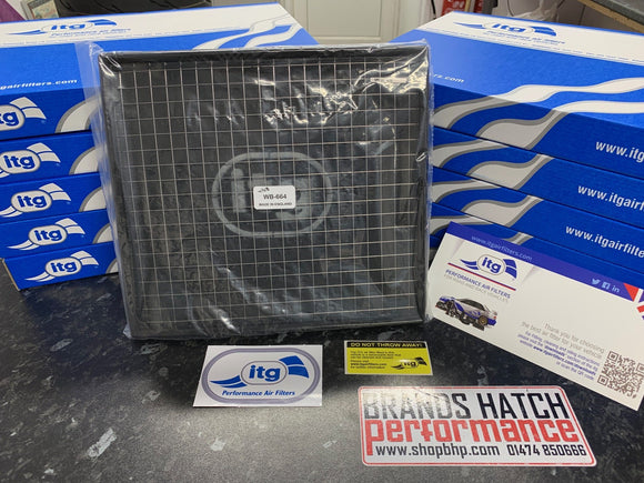 Ford Sierra RS Cosworth ITG Pro Filter Air Filter WB664