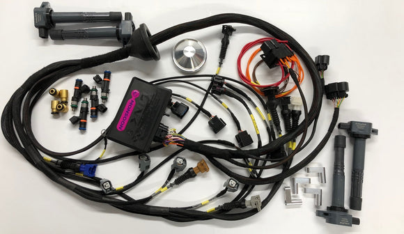 Link G4+ Storm ECU Ford RS Cosworth YB engine Kit with Wiring Loom & Bosch 550cc / 1000cc Injectors & K20 Coils