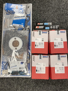 Ford Fiesta VI Mk6 ST150 Duratec MLS Gasket Bearing MAHLE WOSSNER forged Piston Rebuild Kit