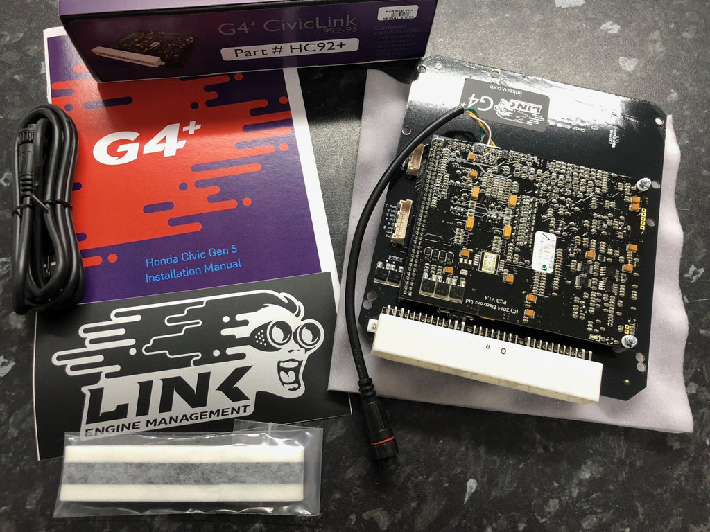 Link ECU G4+ CivicLink (95) HC92+ PlugIn fits the Honda Civic 1992-95 Gen 5