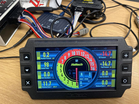 Haltech IC-7 CAN OBDII Display Dash