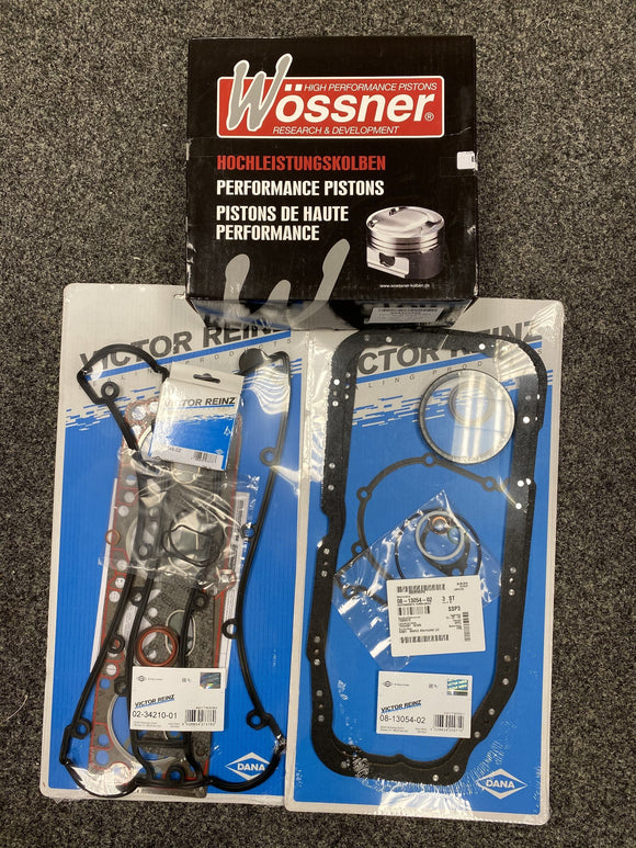 Vauxhall 2.0 C20LET Redtop Red Top Reinz Full Engine Gasket WOSSNER forged Piston Pec Rod Rebuild Kit