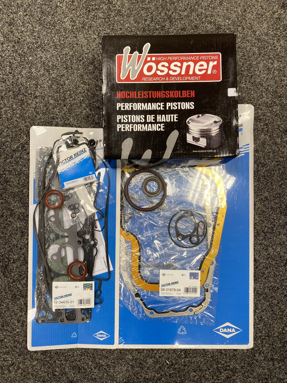 Vauxhall Z20LET Reinz Full Engine Gasket WOSSNER forged Piston Pec Rod Rebuild Kit