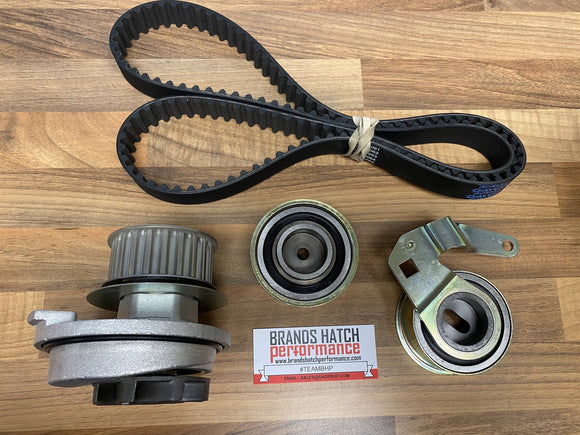 Vauxhall Astra Cavalier Calibra C20XE 141T Dayco Cam Belt + INA Tensioner + Water Pump Kit