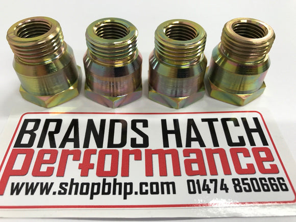 Ford PINTO RS2000 OHC Spark Plug Adaptors - 12mm Bike Plug